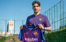 """Barcelona bất ngờ công bố bản hợp đồng mới """"vô danh"""""""