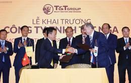 Thủ tướng Nguyễn Xuân Phúc dự lễ khai trương Công ty T&T tại Nga