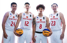 Đội tuyển bóng rổ 3x3 Việt Nam dừng bước tại vòng bảng