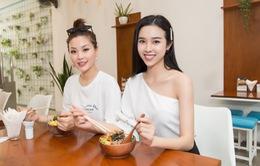 Á hậu Diễm Trang, Thúy An tiết lộ bí kíp ăn vặt thả ga vẫn giữ dáng chuẩn