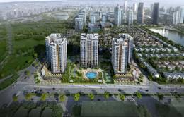 Đường Nguyễn Văn Huyên kéo dài sẵn sàng thông xe, khiến giá trị bất động sản Tây Hồ Tây ngày càng trở nên sôi động