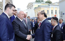 Thủ tướng Nguyễn Xuân Phúc kết thúc thăm chính thức LB Nga