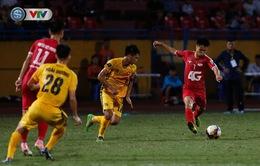 ẢNH: CLB Hải Phòng tiếp tục phải nhận thất bại trên sân Hàng Đẫy