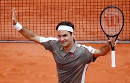 Pháp mở rộng 2019: Roger Federer cùng các tay vợt hạt giống tiến vào vòng 2