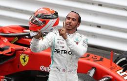 Lewis Hamilton giành chiến thắng tại GP Monaco