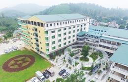 Toàn cảnh bệnh viện vệ tinh mới tại huyện miền núi Phú Thọ
