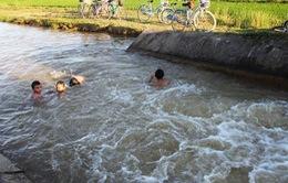 Liên tiếp các vụ đuối nước trẻ em
