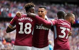 Đánh bại Derby County cùng HLV Lampard, Aston Villa giành quyền lên chơi giải Ngoại hạng Anh