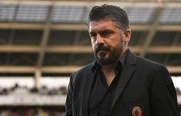 HLV Gattuso đau lòng nói lời chia tay với AC Milan