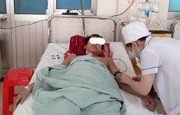 Nam bệnh nhân mắc Hemophilia xuất huyết tiêu hóa nguy kịch