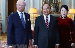 Thủ tướng Nguyễn Xuân Phúc hội kiến Nhà vua Thụy Điển