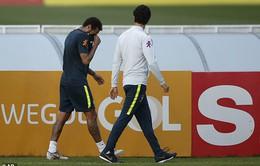 Neymar tiếp tục gặp chấn thương, người hâm mộ Brazil lo lắng