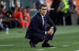 Thay đổi chóng mặt, Barcelona muốn giữ HLV Valverde thêm 1 mùa