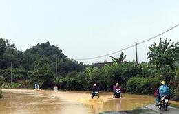 Một người dân thiệt mạng do lũ cuốn trôi ở Cao Bằng