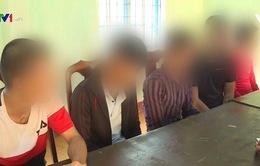 Bắt 6 đối tượng nghiện thực hiện 16 vụ trộm cắp