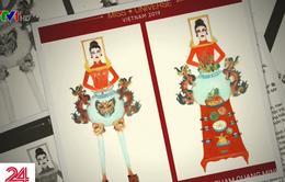 """Thiết kế trang phục """"Bàn thờ"""" cho cuộc thi Hoa hậu Hoàn vũ gây tranh cãi gay gắt"""