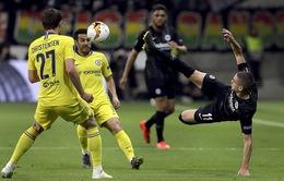 UEFA Europa League: Pedro ghi bàn, Chelsea thoát thua tại Frankfurt