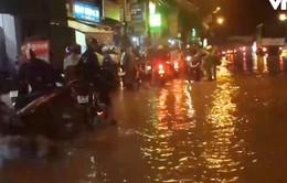 Đồng Nai: Nhiều tuyến đường ngập nặng do mưa lớn