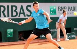 Pháp mở rộng 2019: Dominic Thiem và Novak Djokovic tiến vào vòng 3