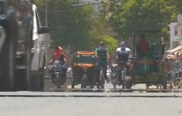 Ấn Độ oằn mình vì nắng nóng