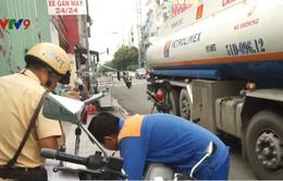Đẩy mạnh, duy trì xử lý vi phạm giao thông trên nhiều tuyến đường