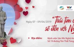 Trái tim cho em tổ chức khám sàng lọc tim bẩm sinh miễn phí cho trẻ em lần thứ 55 tại Nghệ An