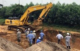 Đường ống sông Đà tiếp tục rò rỉ, 100.000 hộ dân có khả năng bị mất nước