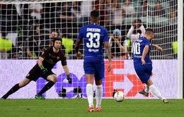 """Chấm điểm Chelsea 4-1 Arsenal: """"Màn chia tay"""" tuyệt hảo của Eden Hazard, cơn ác mộng của Petr Cech!"""