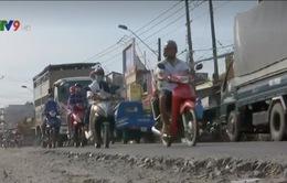 Vĩnh Long: Quốc lộ 53 xuống cấp nghiêm trọng