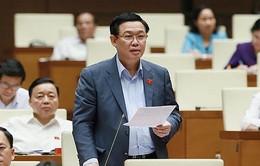 Phó Thủ tướng Vương Đình Huệ giải trình về tăng giá điện trước Quốc hội