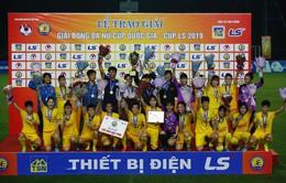 Giải bóng đá Nữ cúp Quốc gia 2019: Vượt qua CLB Hà Nội, Phong Phú Hà Nam giành ngôi vô địch