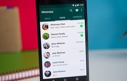 WhatsApp hỗ trợ gửi tin nhắn thoại liên tiếp