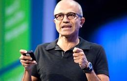 """CEO Microsoft: Thật """"ghê tởm"""" nếu ăn mừng khi công ty đạt giá trị 1.000 tỷ USD"""