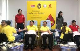 Tổng lãnh sự quán Thái Lan tại Việt Nam tổ chức hiến máu nhân đạo