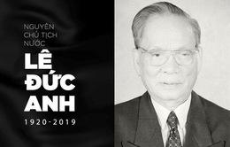 Điện, Thư chia buồn nguyên Chủ tịch nước, Đại tướng Lê Đức Anh từ trần