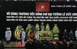 Lời cảm ơn của Ban lễ tang và gia đình Đại tướng Lê Đức Anh