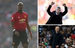 Man Utd đại chiến Real Madrid để giữ chân Paul Pogba