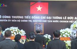 Lễ viếng và mở sổ tang nguyên Chủ tịch nước Lê Đức Anh tại các nước