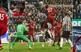 Newcastle 2-3 Liverpool: Trong rủi có may, The Kop giành ngôi đầu nhờ cái tên không ai ngờ tới