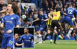 Vòng 37 Ngoại hạng Anh: Chelsea 3-0 Watford, Huddersfield 1-1 Man Utd