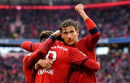 """""""Vùi dập"""" đội xuống hạng, Bayern Munich tiến gần hơn tới đĩa bạc Bundesliga"""