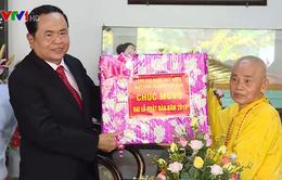 Ông Trần Thanh Mẫn chúc mừng Lễ Phật đản tại tỉnh TT-Huế và Quảng Trị