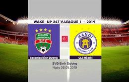 HIGHLIGHTS: Becamex Bình Dương 2-2 CLB Hà Nội (Vòng 8 Wake-up 247 V.League 1 - 2019)