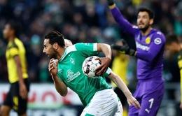 VIDEO: Tổng hợp diễn biến Werder Bremen 2-2 Borussia Dortmund  (Vòng 32 Bundesliga)