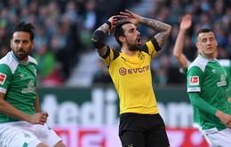 Bị cầm hòa, Borussia Dortmund dần xa giấc mộng vô địch Bundesliga