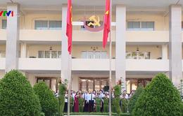 Thủ tướng Nguyễn Xuân Phúc dự Lễ chào cờ đầu tuần của Tỉnh ủy Đồng Nai