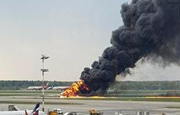 Thương vong cao trong vụ tai nạn máy bay Nga có thể do hành khách cố lấy hành lý