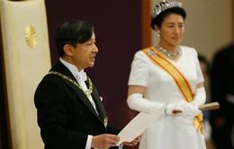 Phó Chủ tịch nước Đặng Thị Ngọc Thịnh ghi sổ mừng nhân dịp Nhà Vua Nhật Bản Naruhito lên ngôi