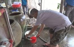Cà Mau: Hàng trăm hộ dân thiếu nước sinh hoạt mùa nắng nóng