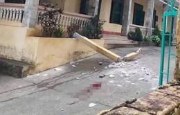 UBND huyện Đà Bắc nói về công trình trường học sập làm 2 em học sinh thương vong